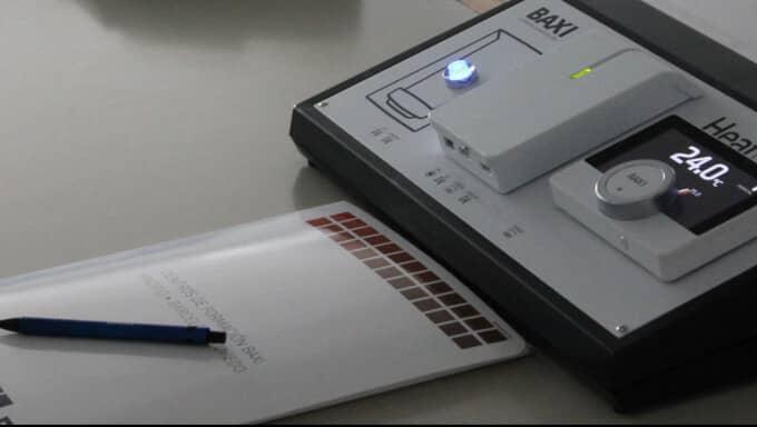 Termostatos y regulaci n baxi ambiente inal mbricos for Clases de termostatos